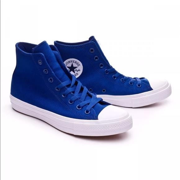 80972b55e Converse Shoes | Chuck Taylor 2 Hi Top Sodalite Blue | Poshmark